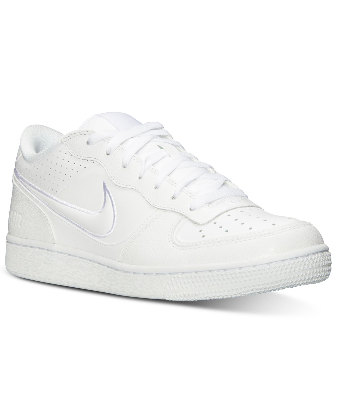 save off 0ae92 c5119 Nike Men S Air Indee Casual Sneakers From Finish Line in White for ...