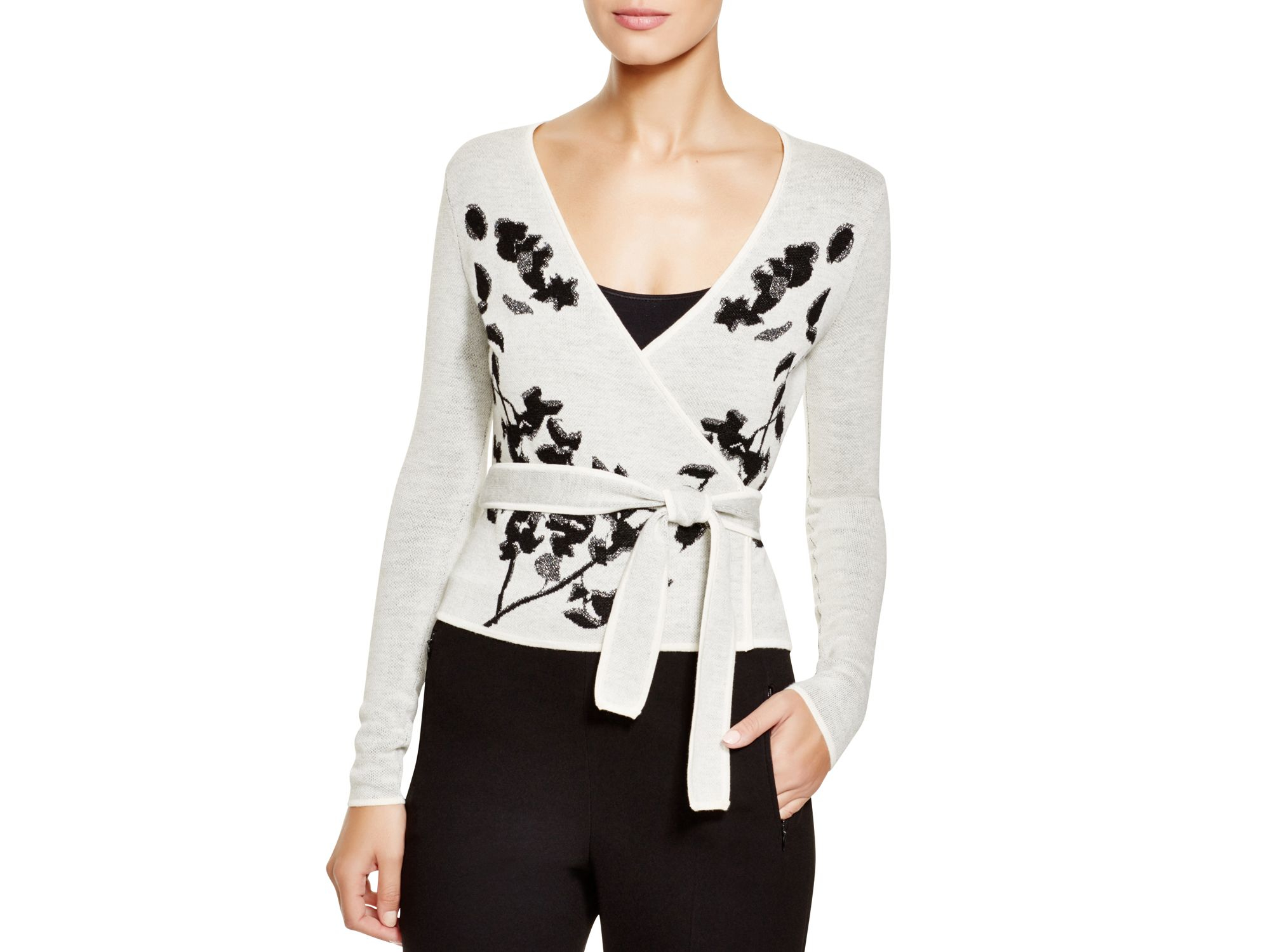 Offer Diane von Furstenberg Printed Knit Sweater Cheap Real Authentic 05ehrY