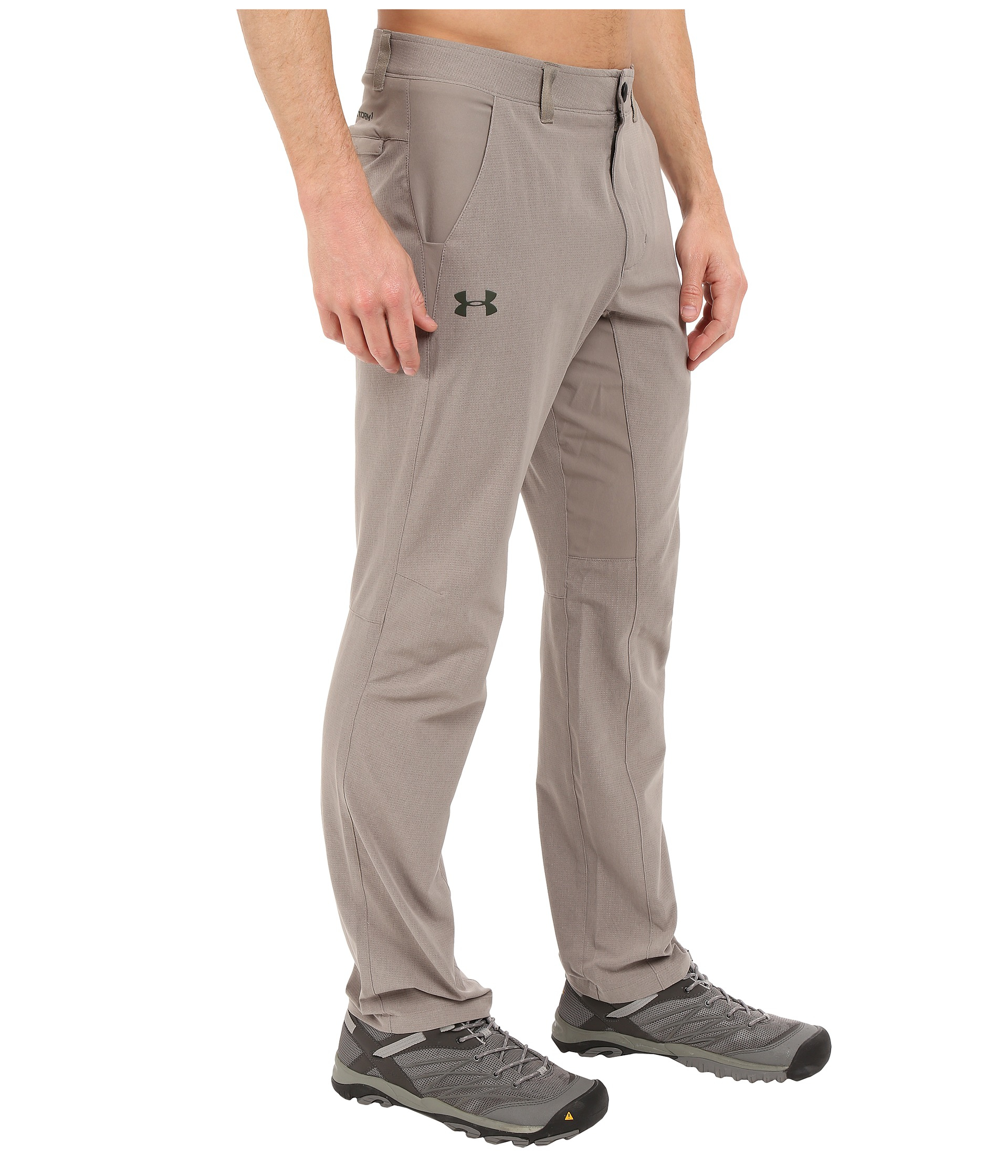 6f98900a89a91 Under Armour Ua Armourvent Trail Pants in Gray for Men - Lyst