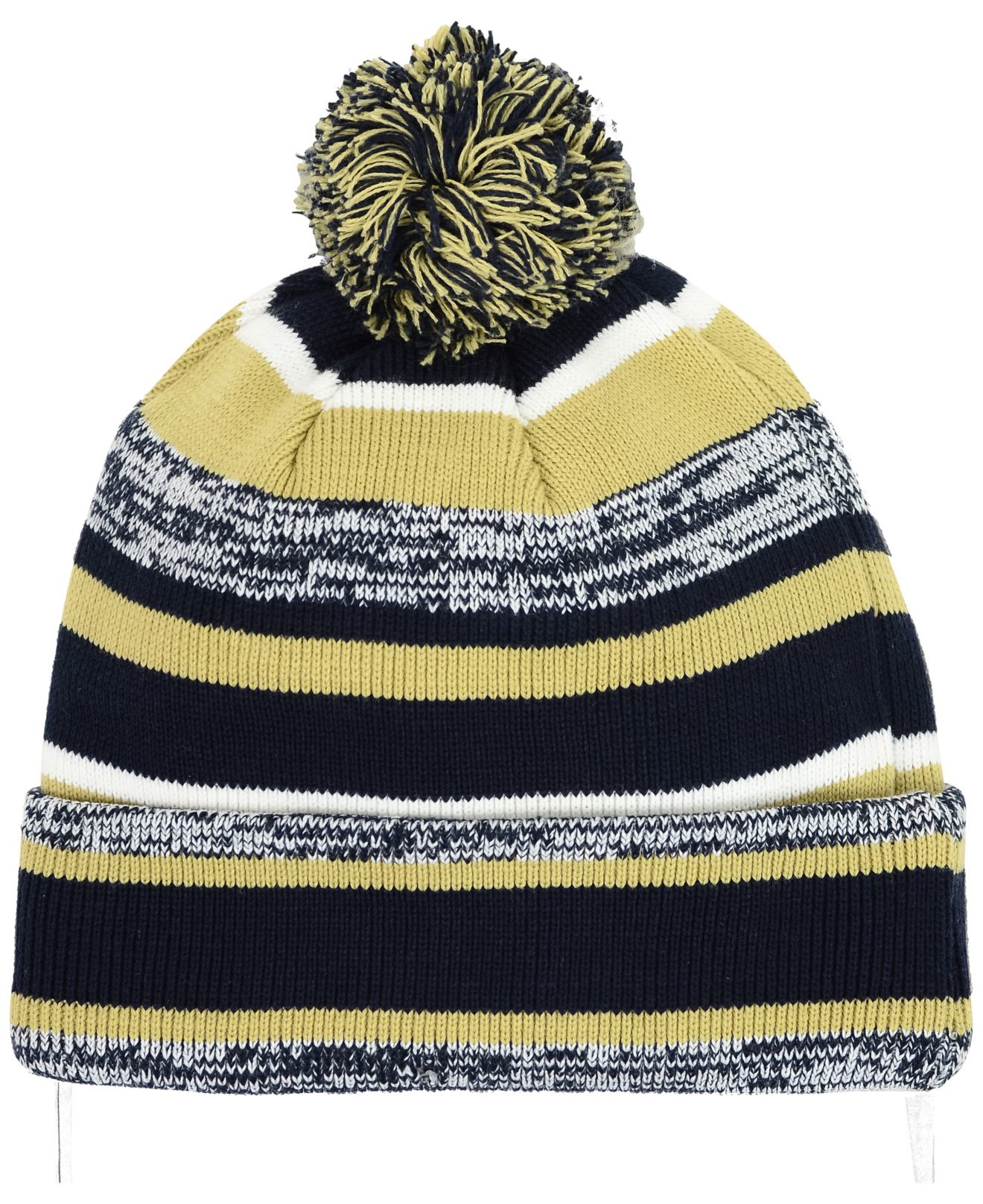 96a85cd501197 ... reduced lyst ktz georgia tech yellow jackets sport knit hat for men  324c8 54125