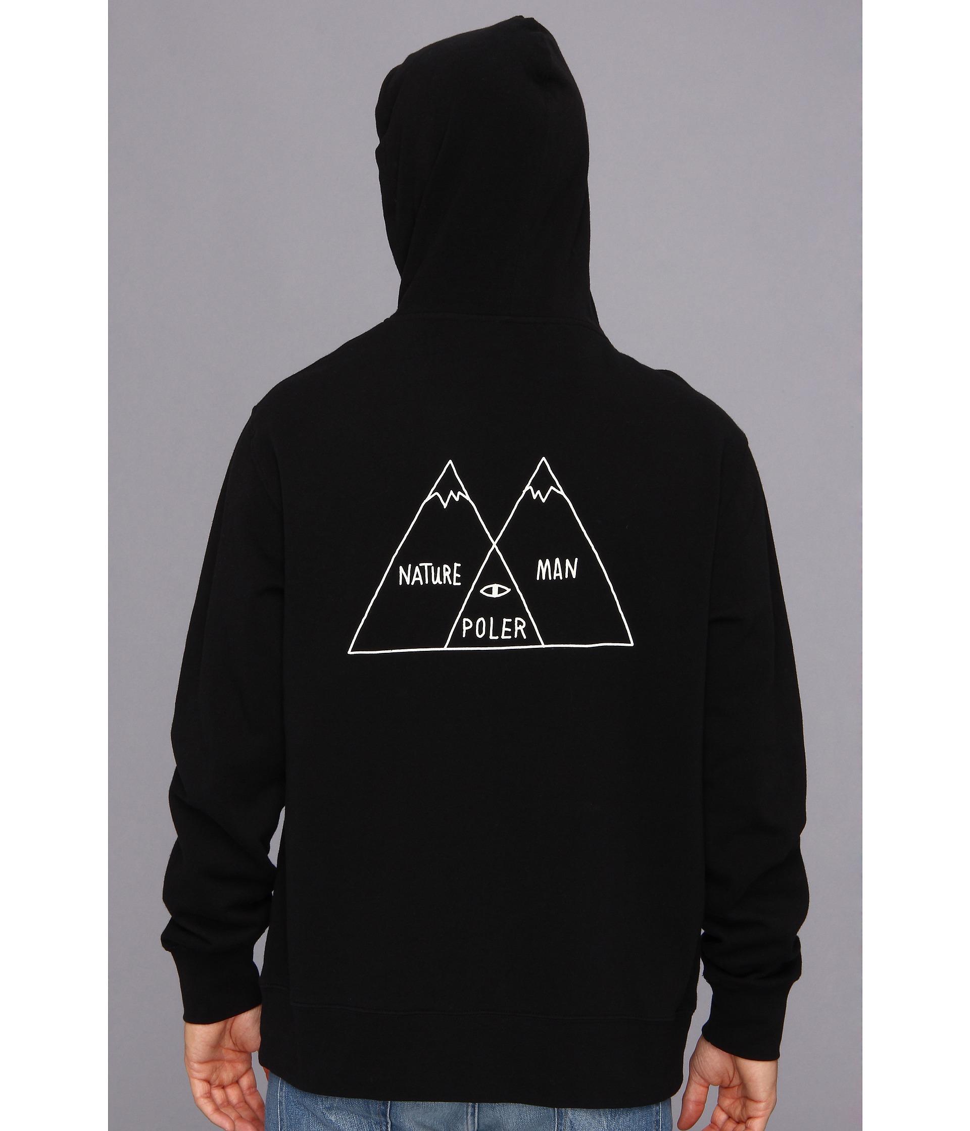 Lyst poler venn diagram zip hoodie in black for men gallery pooptronica