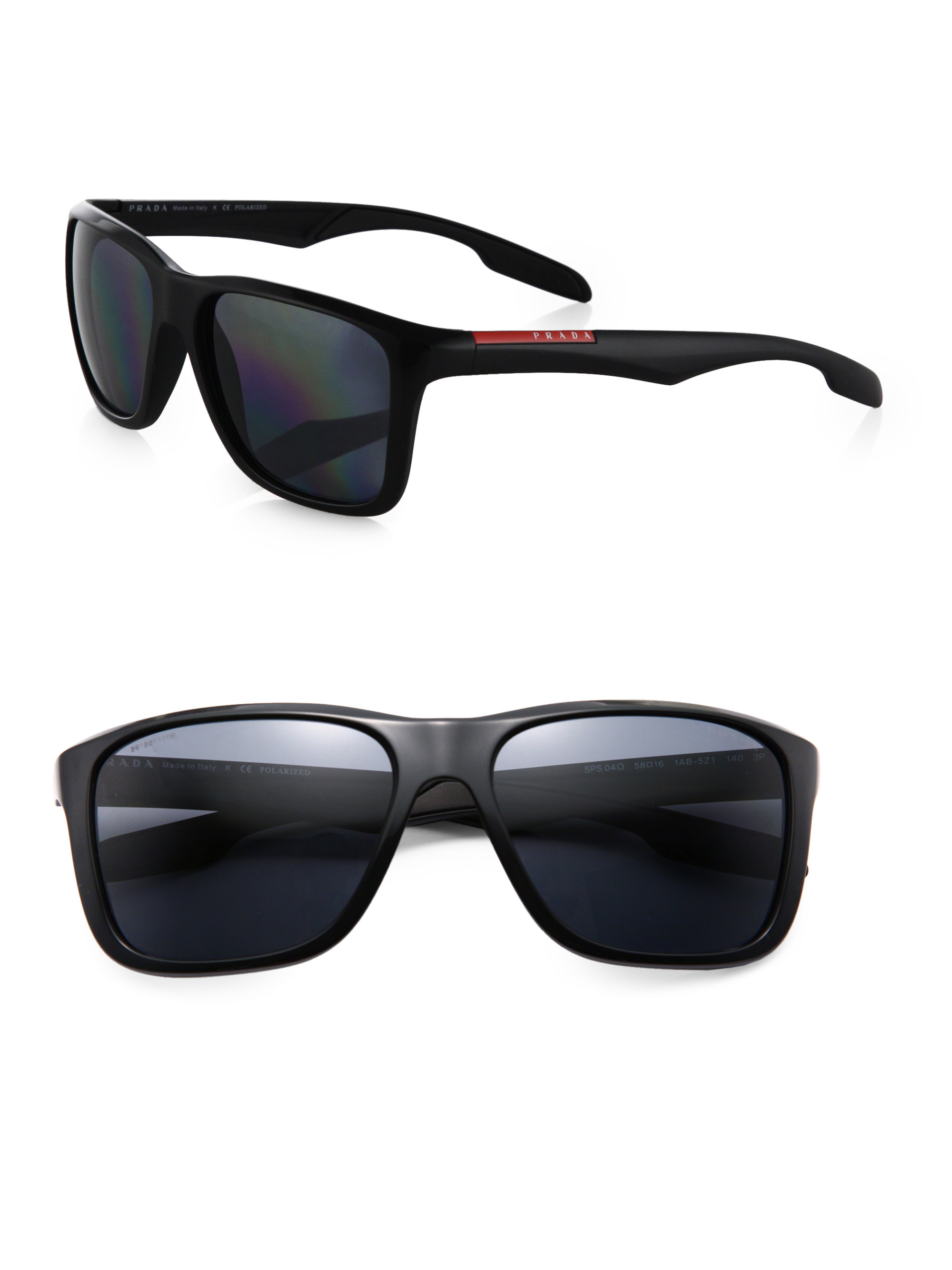 0b29c3bfd6dd Gallery. Previously sold at  Saks Fifth Avenue · Men s Half Framed  Sunglasses ...
