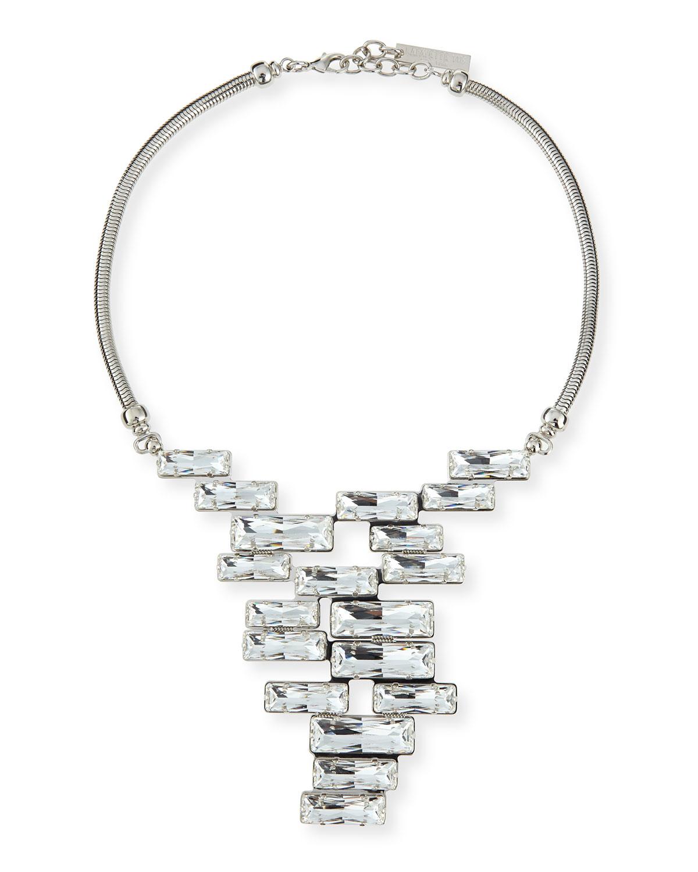lafayette 148 new york crystal cluster pendant necklace in. Black Bedroom Furniture Sets. Home Design Ideas