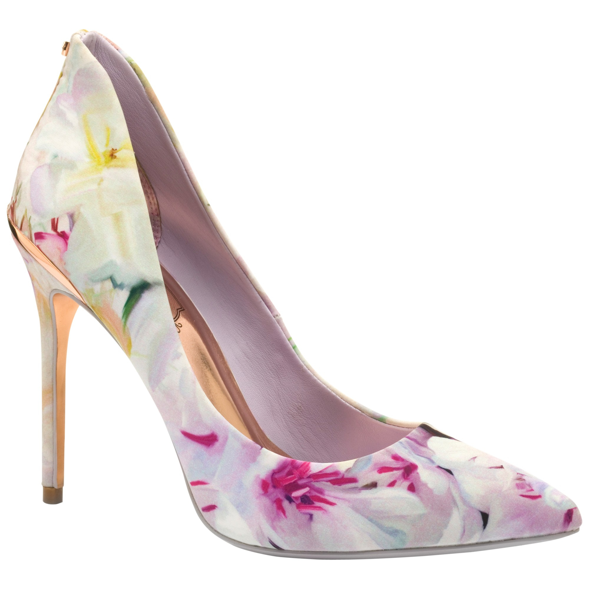 0487d9d8c1af Ted Baker Savenniers Stiletto Heeled Court Shoes in Pink - Lyst