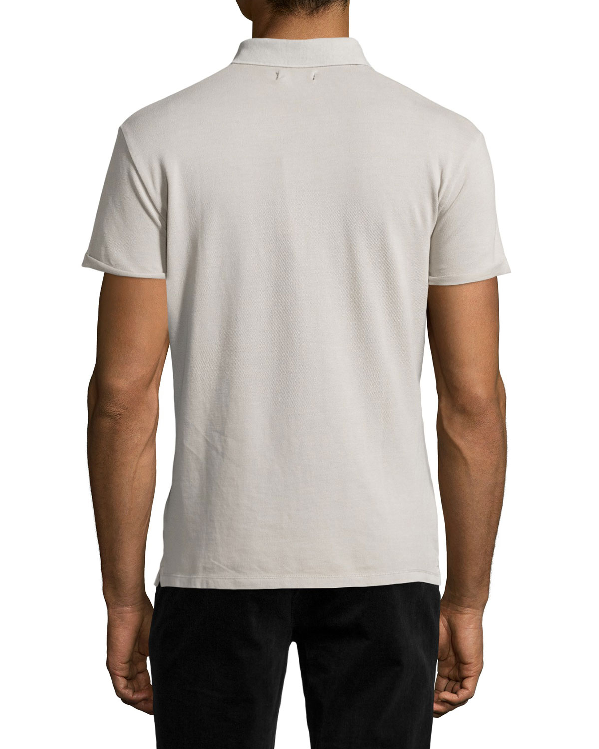 Lyst Antony Morato Rolled Cuff Short Sleeve Polo Shirt