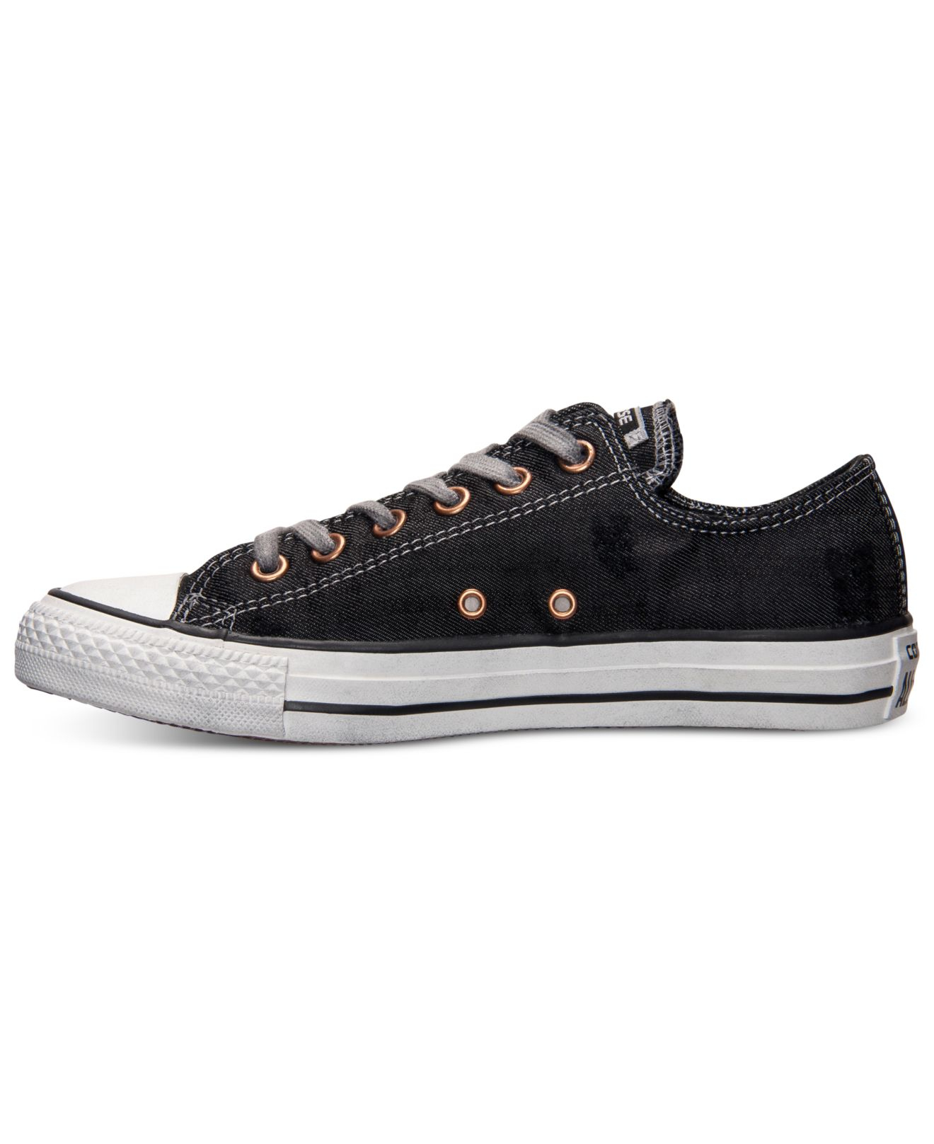Converse Men S Chuck Taylor All Star Destroy Denim Casual