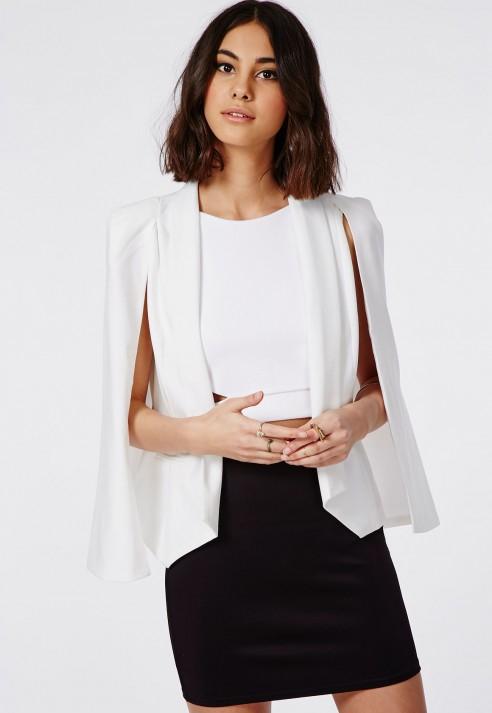 Missguided Hansa Black Bodycon Mini Skirt in Black | Lyst