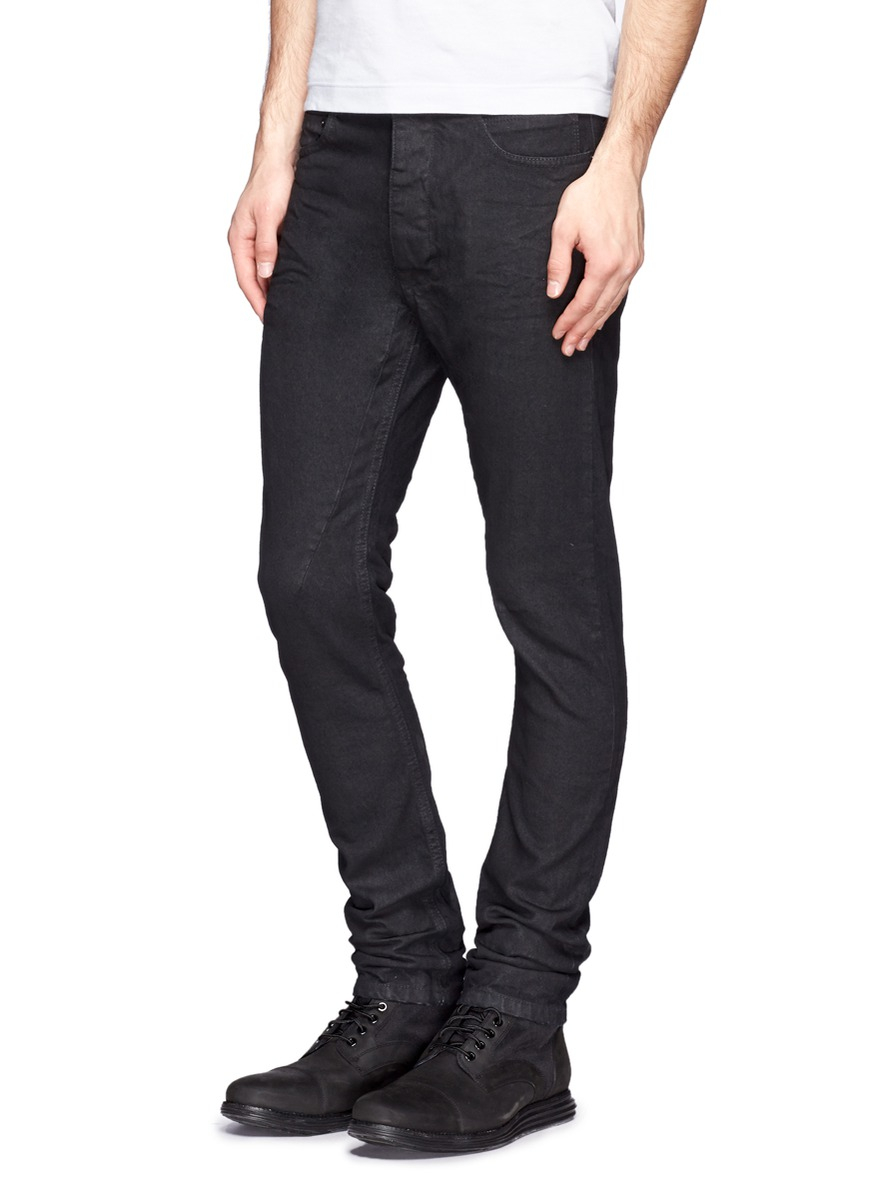 a471c12c2c525 DRKSHDW by Rick Owens Torrence Cut Jeans in Black for Men - Lyst