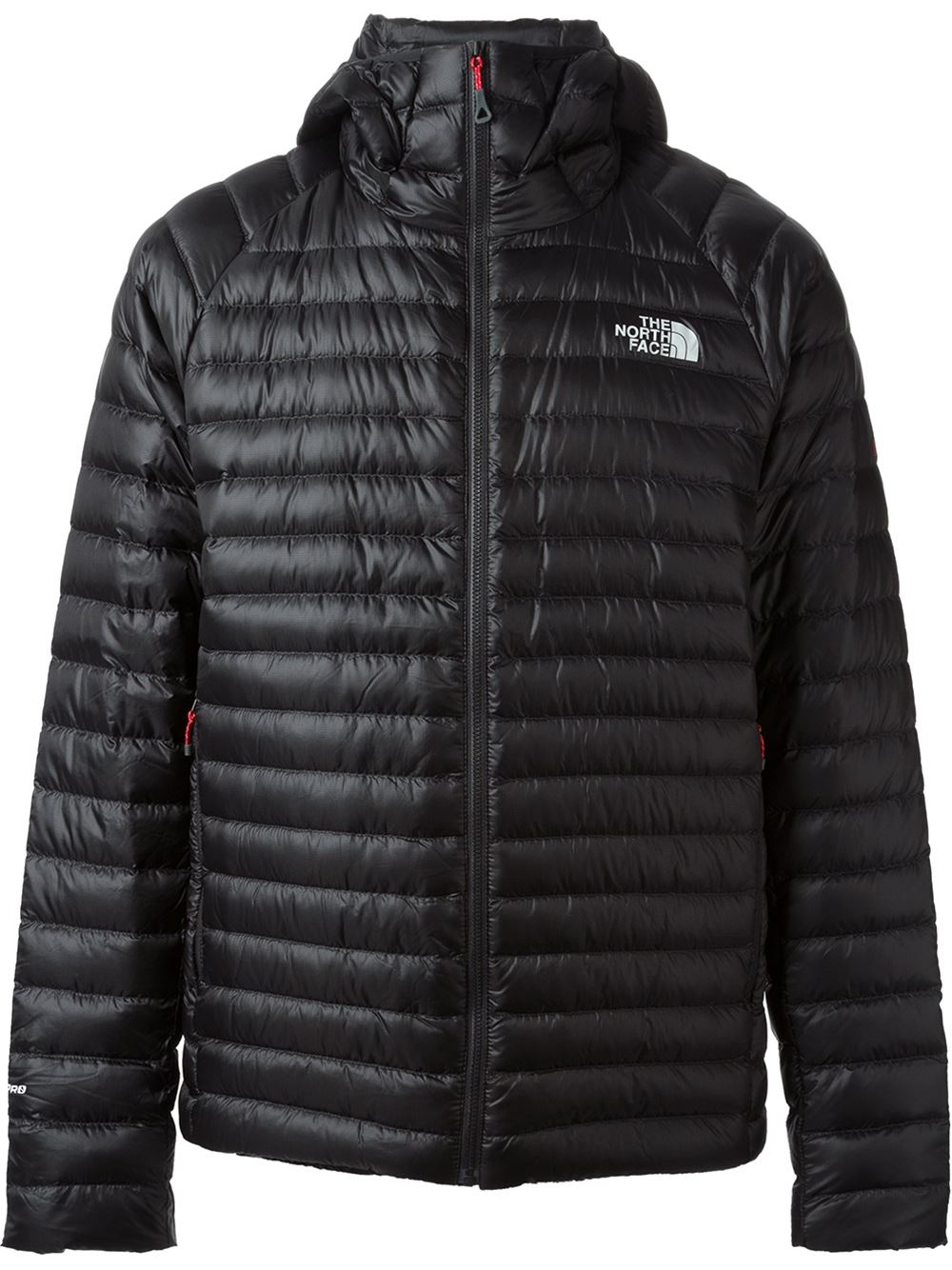 the north face quilted jacket in black for men lyst. Black Bedroom Furniture Sets. Home Design Ideas