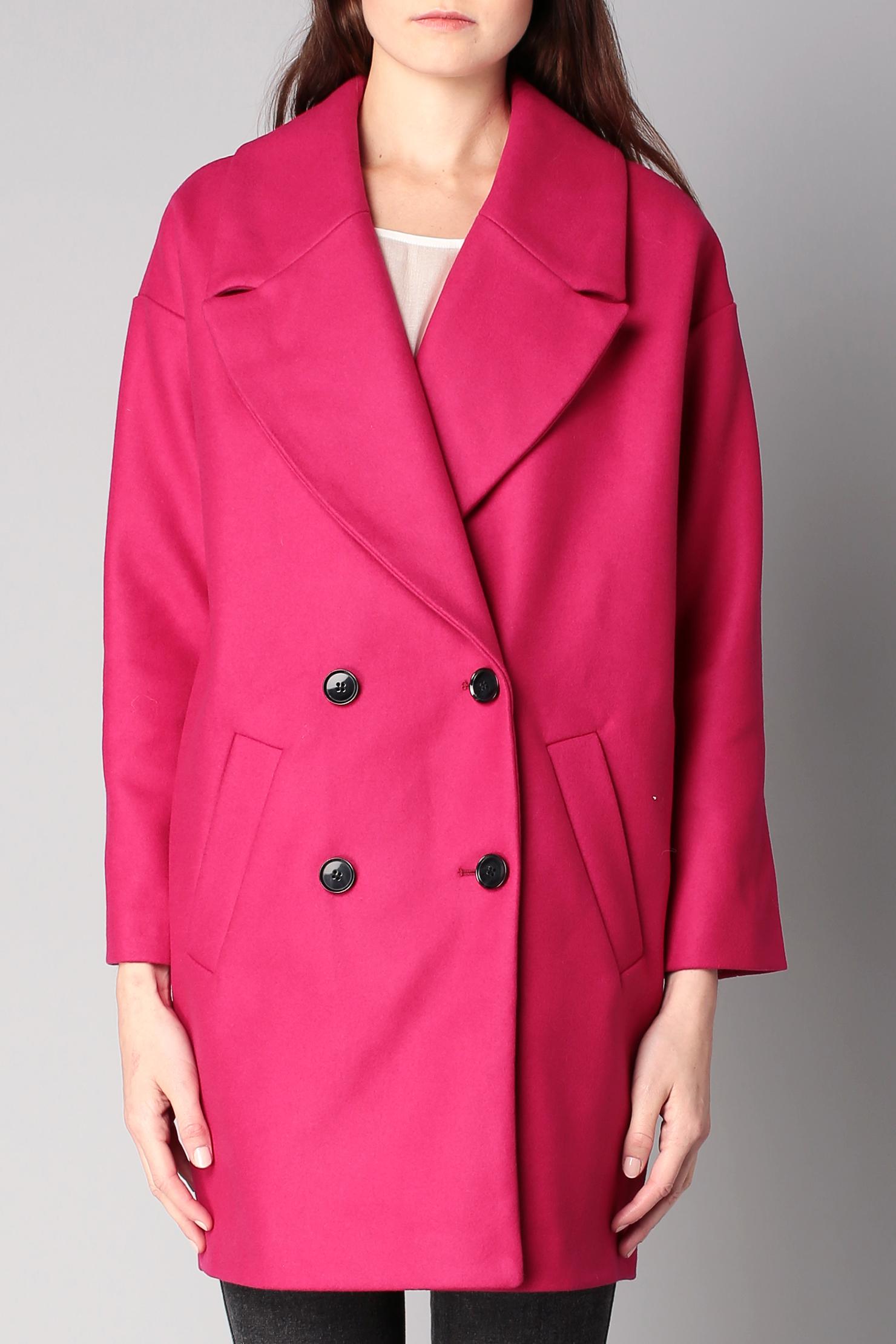 American vintage Mid Coat in Pink | Lyst