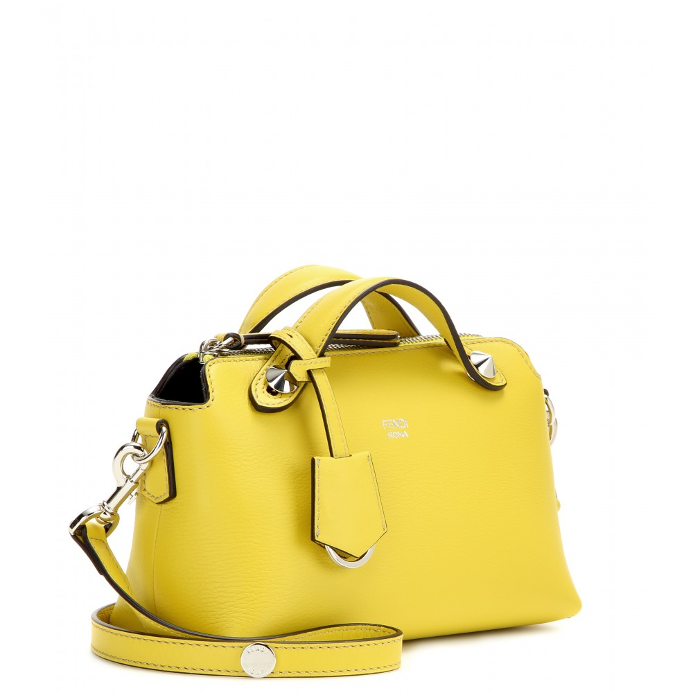 8e1cb1b6c4 ... usa lyst fendi by the way mini leather bag in yellow 9cb52 961b2