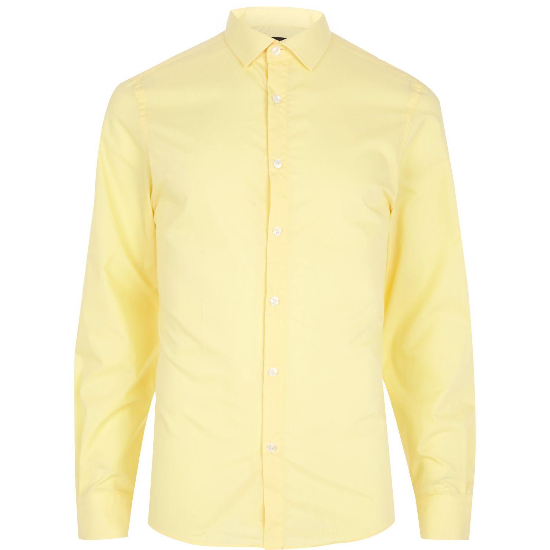 Light Yellow Long Sleeve Shirt | Artee Shirt