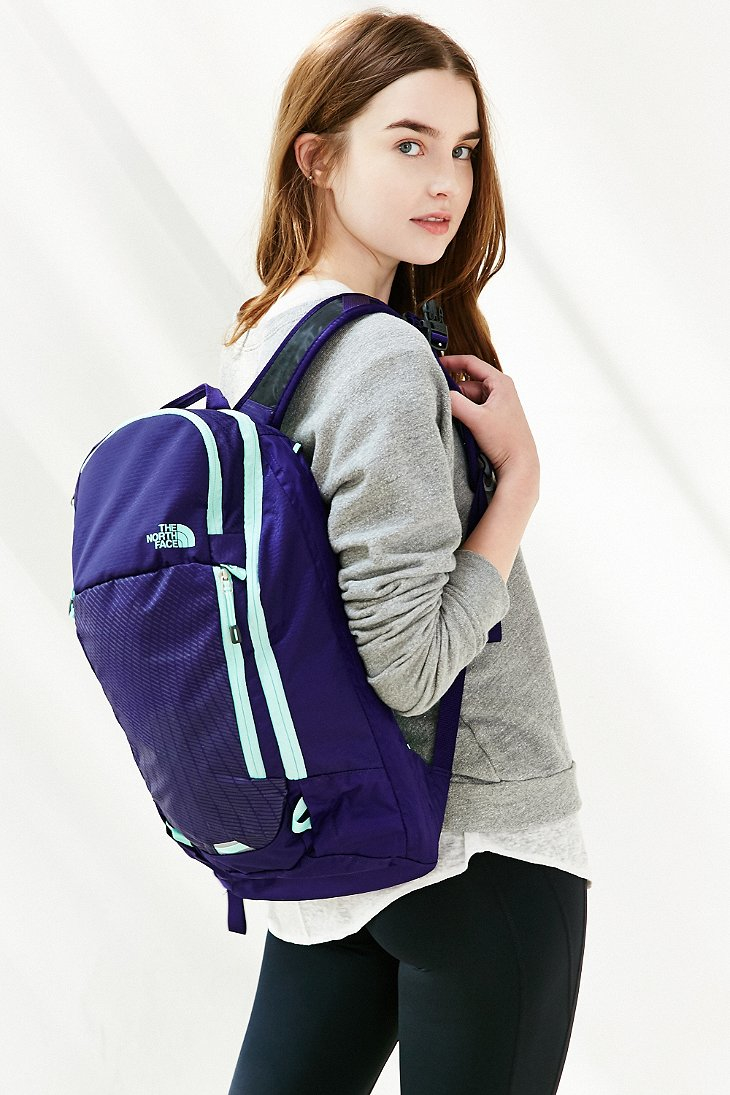 The north face Pinyon Backpack in Purple | Lyst