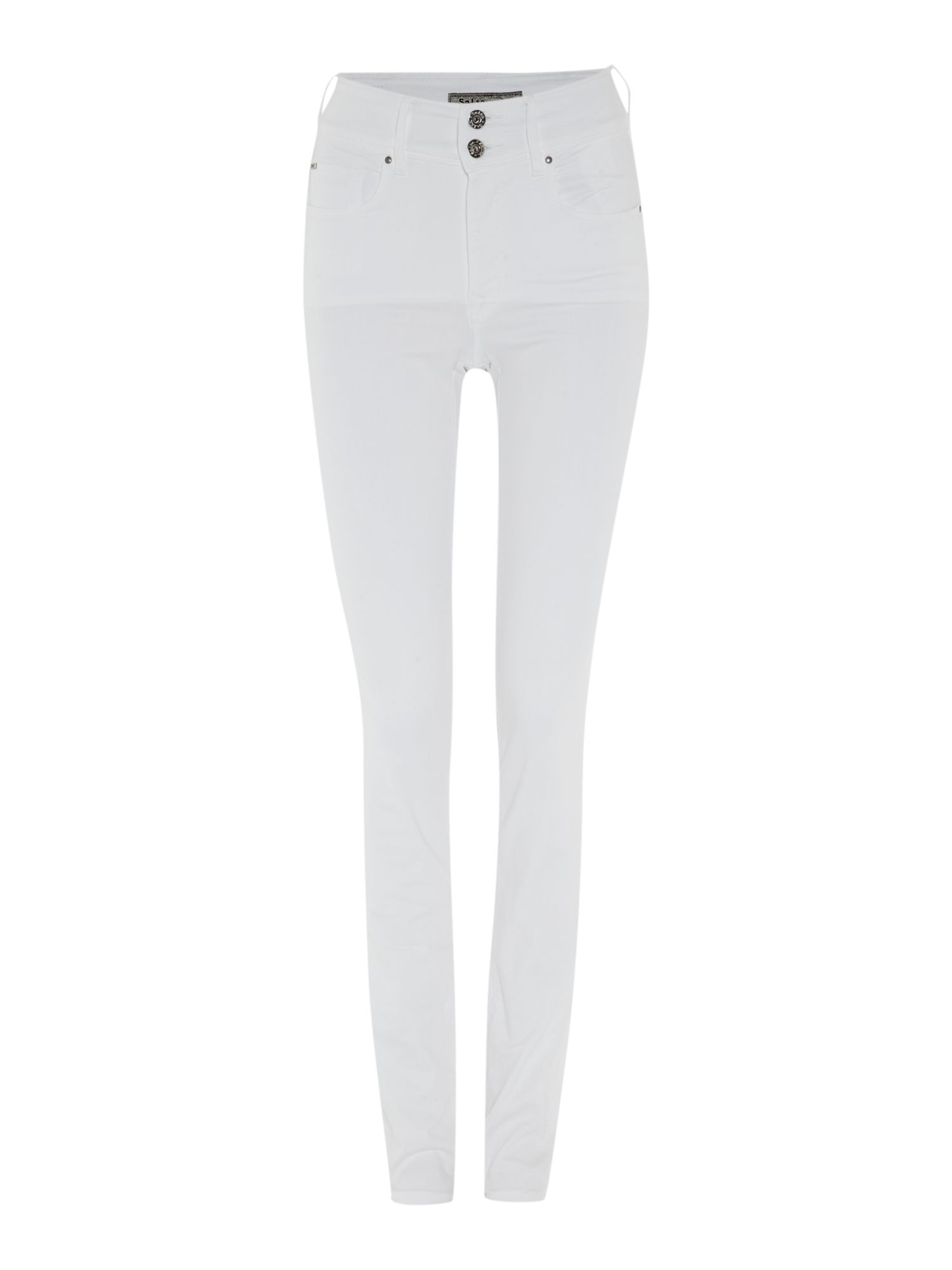 White Slim Leg Jeans - Legends Jeans