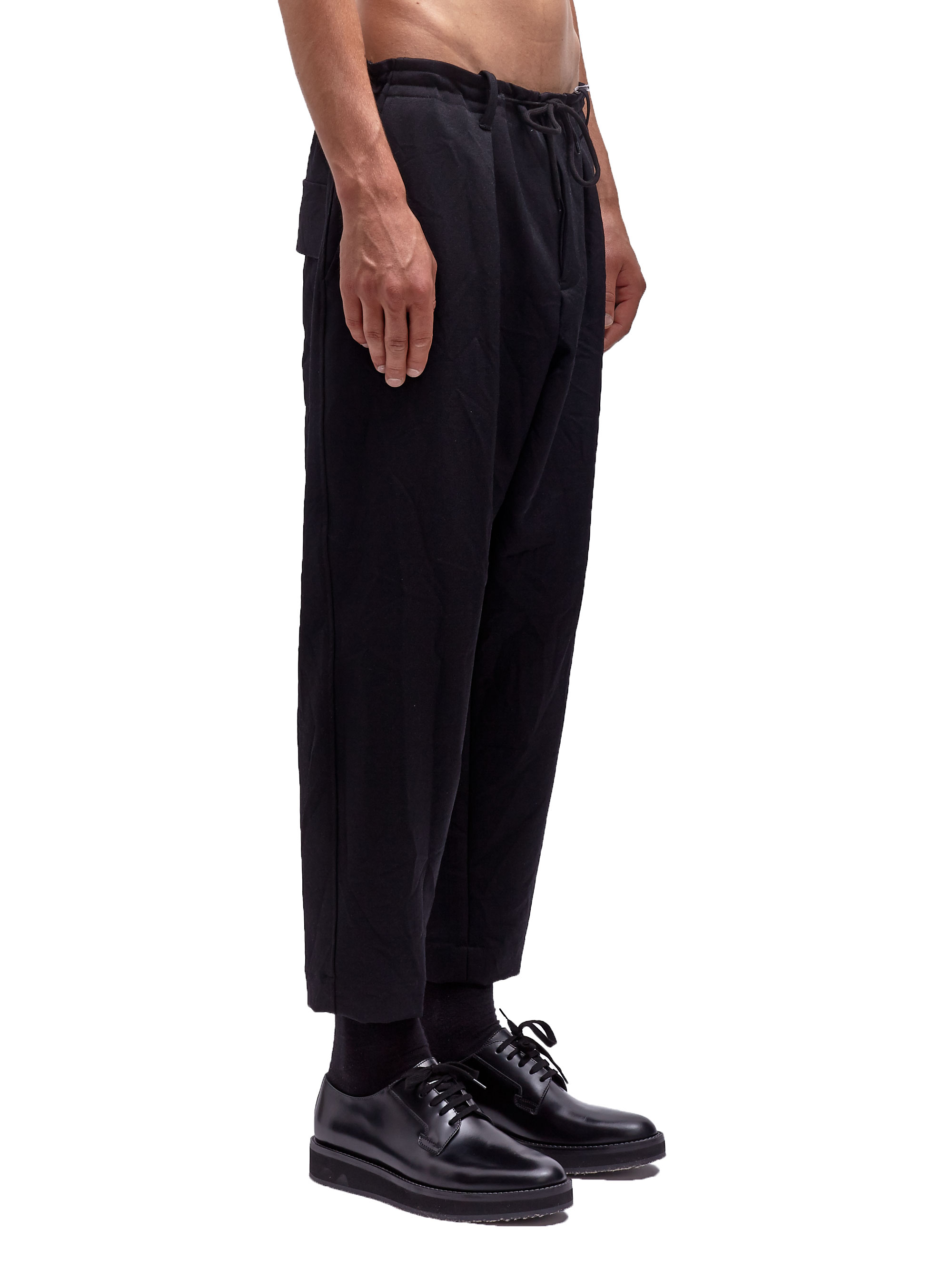 Lyst Marni Mens Washed Technical Pants In Black For Men