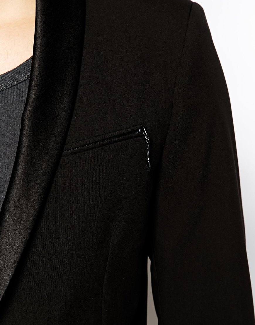 Diesel j rebel jacket black