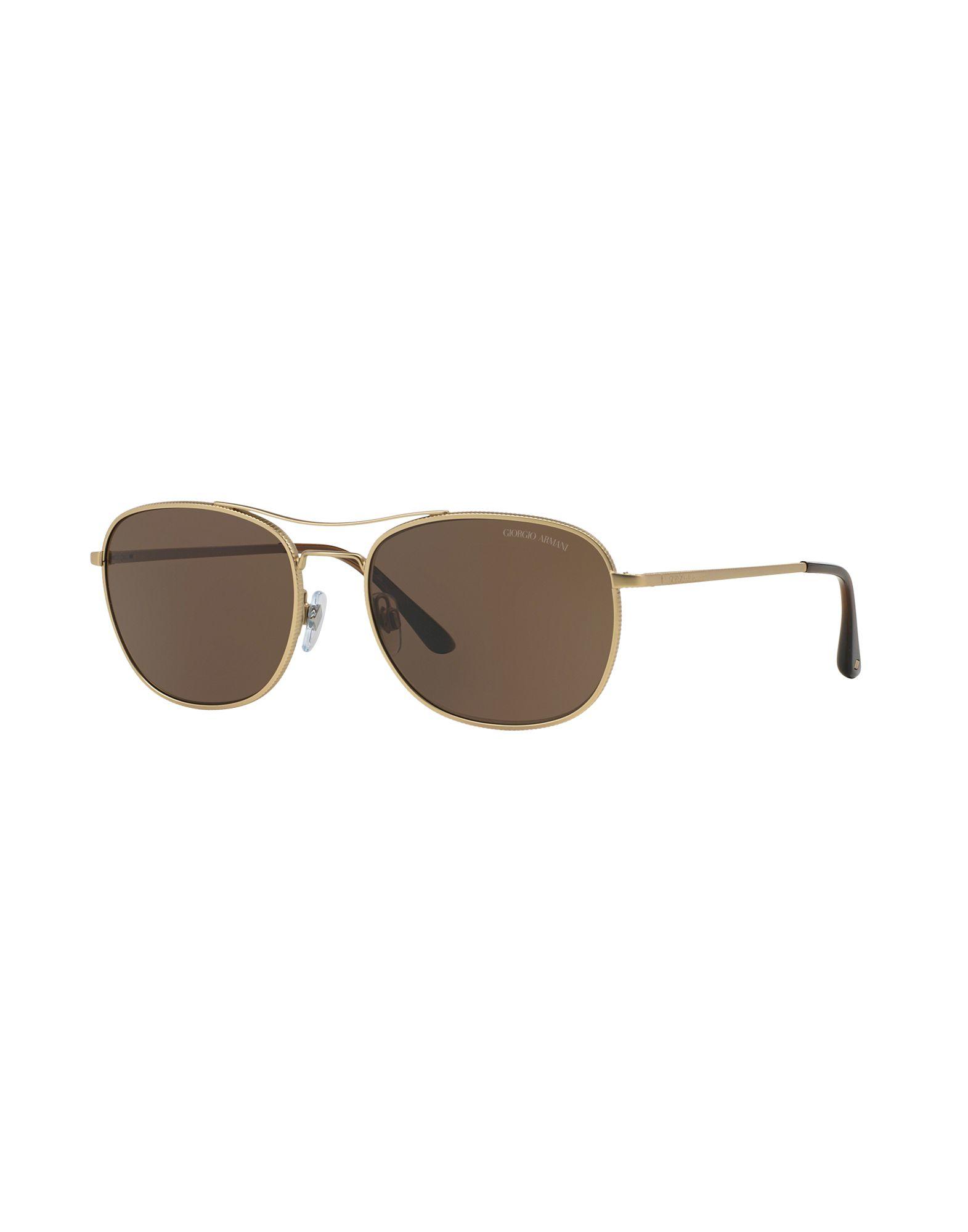 Armani Gold Frame Sunglasses : Giorgio armani Sunglasses in Gold for Men - Save 27% Lyst