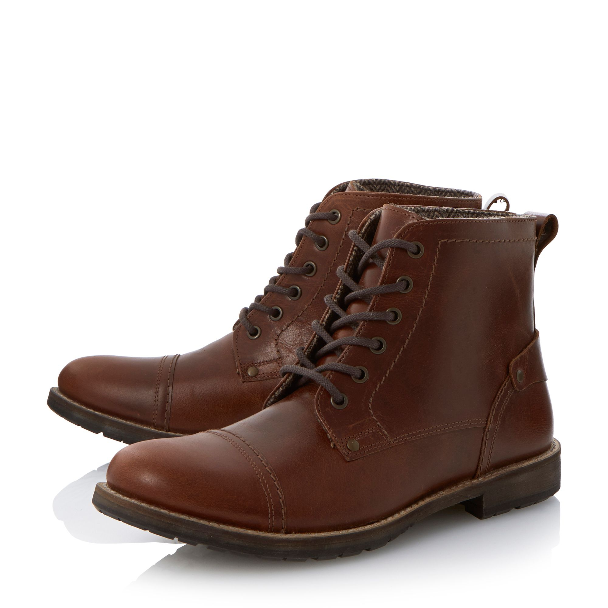 Howick Cardinal Toecap Casual Boots in Brown for Men | Lyst