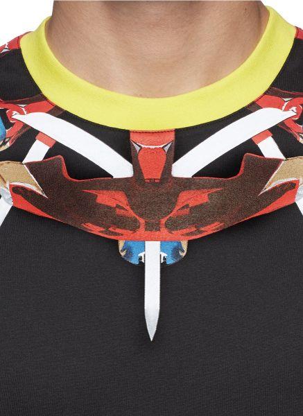 Givenchy Snake Shirt Givenchy Tribal Snake
