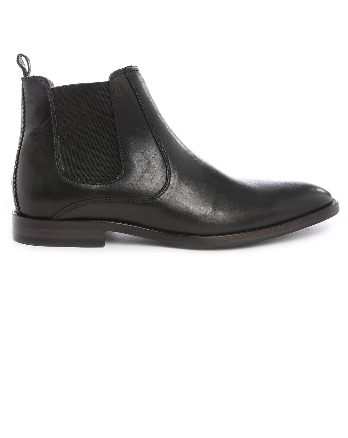 tommy hilfiger dalton 18a black leather chelsea boots in black for men. Black Bedroom Furniture Sets. Home Design Ideas