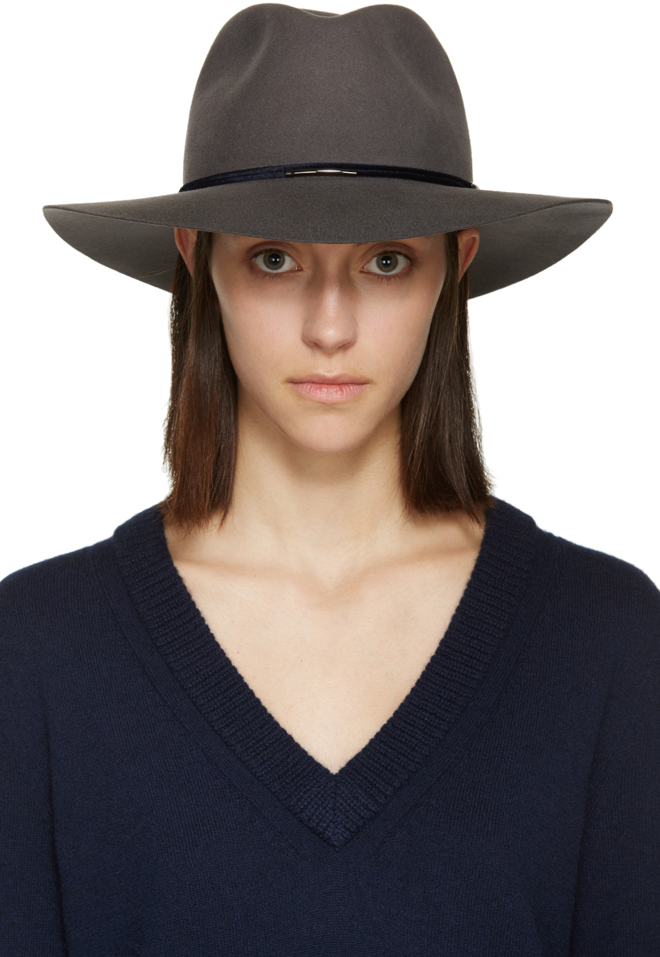 adab6a8f5a197 Rag   Bone Grey Wool Range Fedora in Gray - Lyst