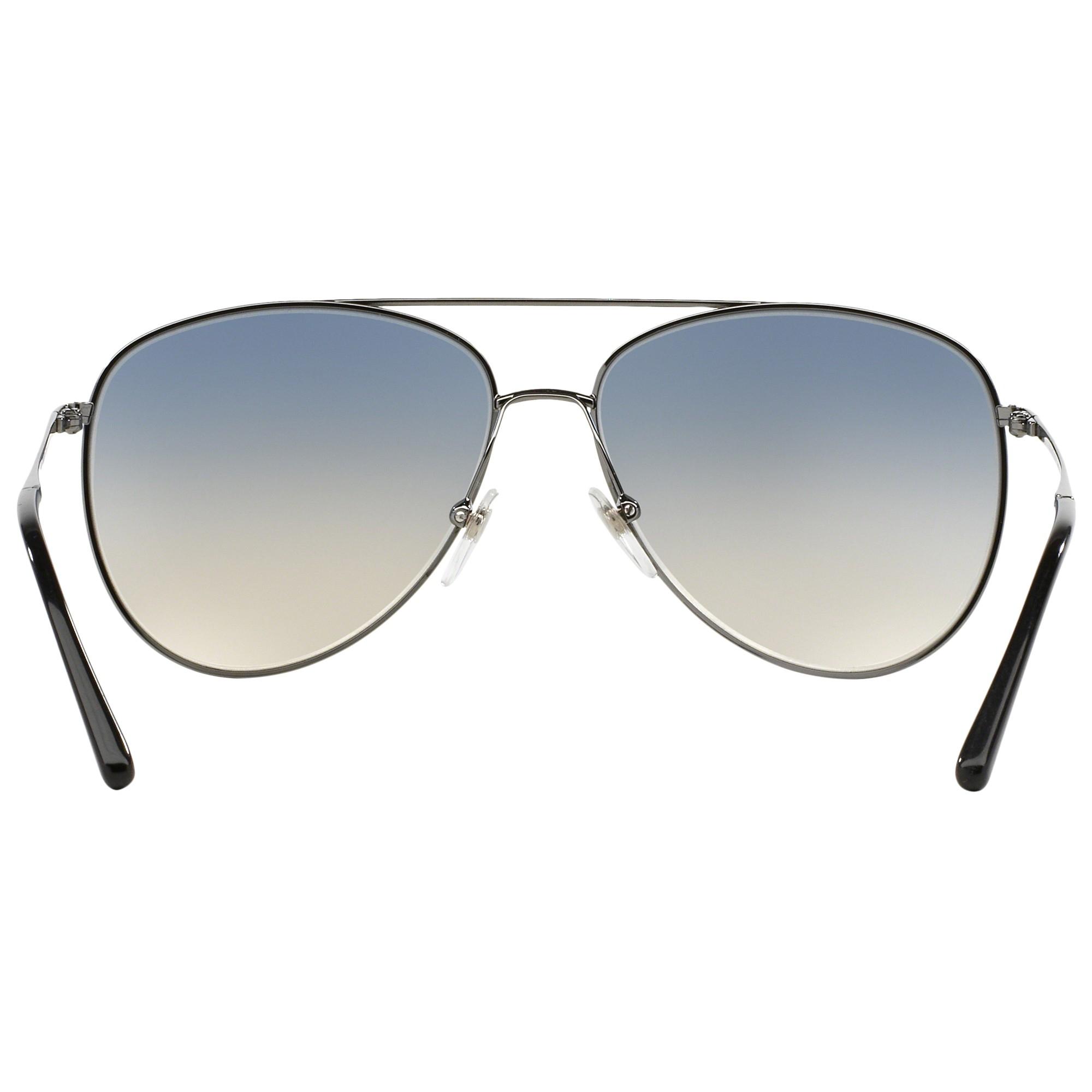 3e7f6f1b486 Burberry Be3072 Aviator Sunglasses in Blue - Lyst