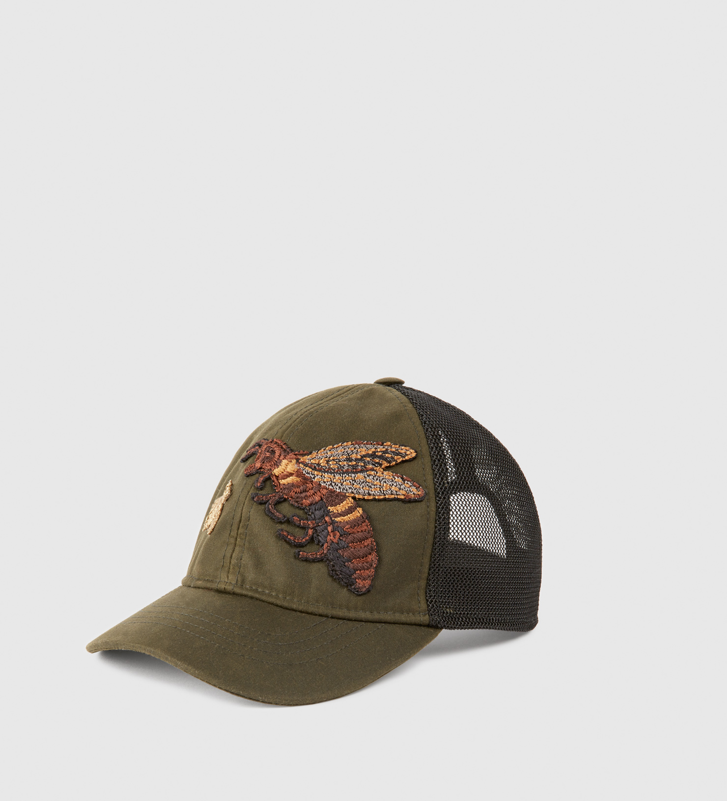 Lyst - Gucci Canvas Hat With Bee Embroidery for Men 98a1b51e9db