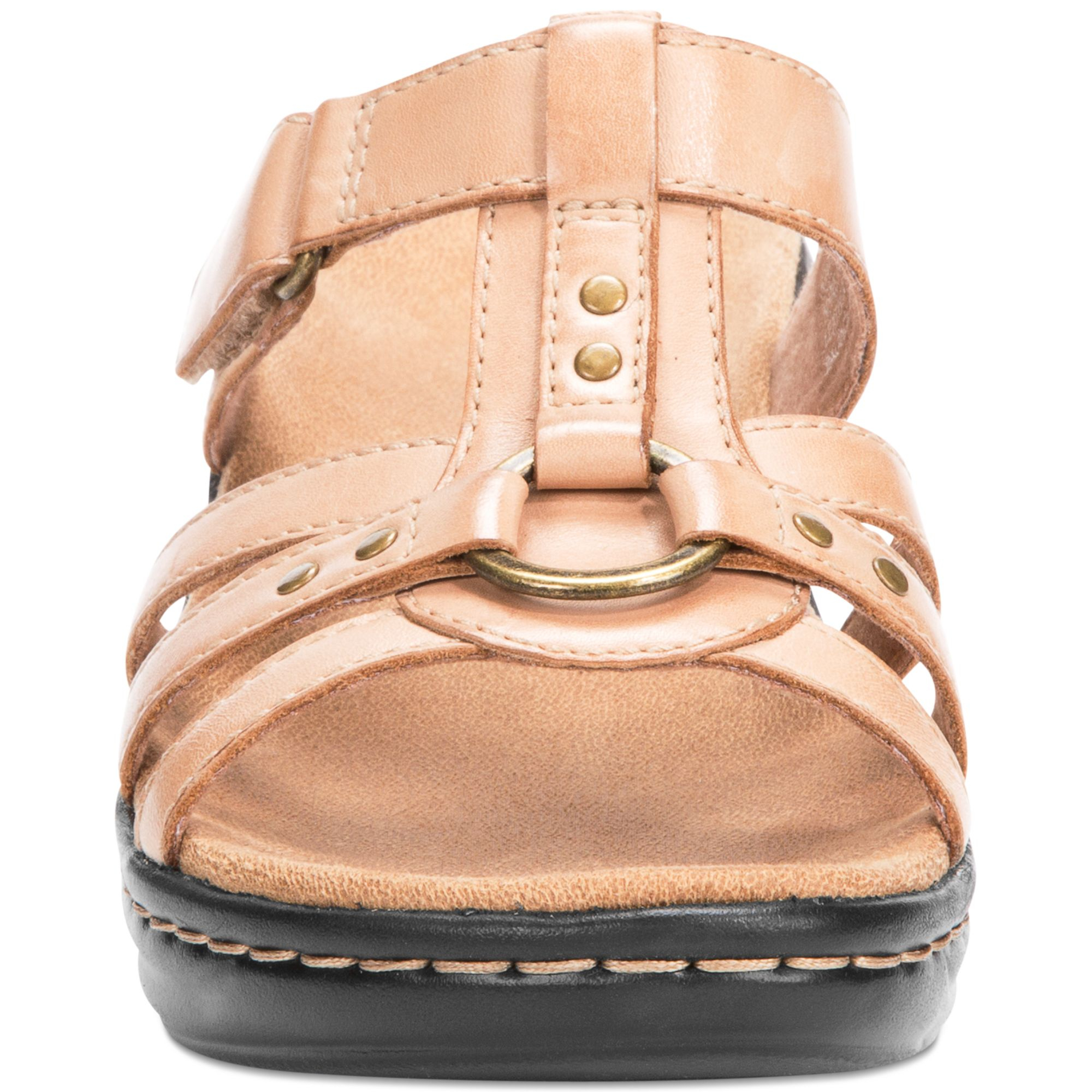 Lyst Clarks Womens Shoes Lexi Jasmine Sandals In Natural