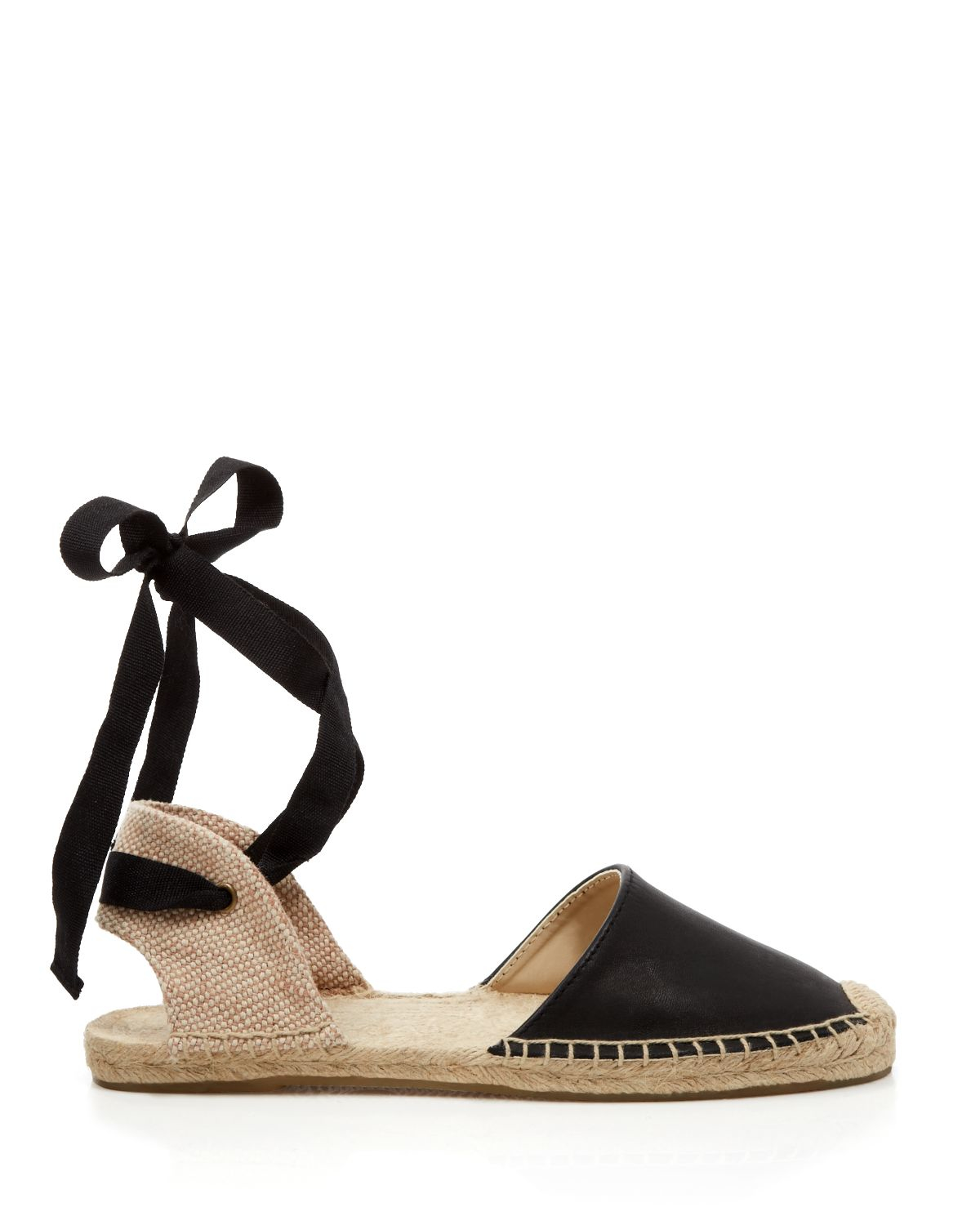 Lyst Soludos Espadrille Flat Sandals Classic Ankle
