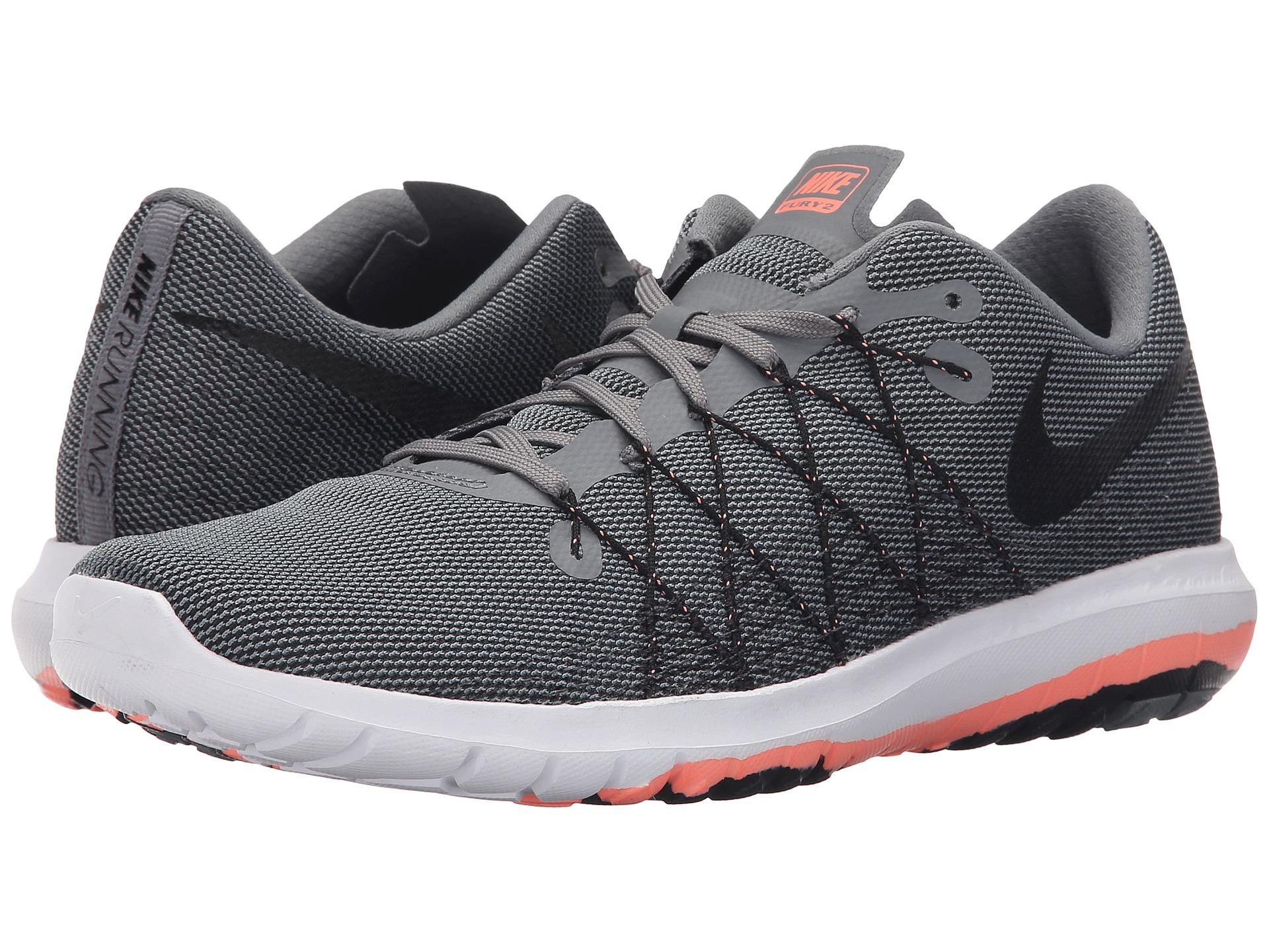 Lyst - Nike Flex Fury 2 in Gray aa616e4d5b