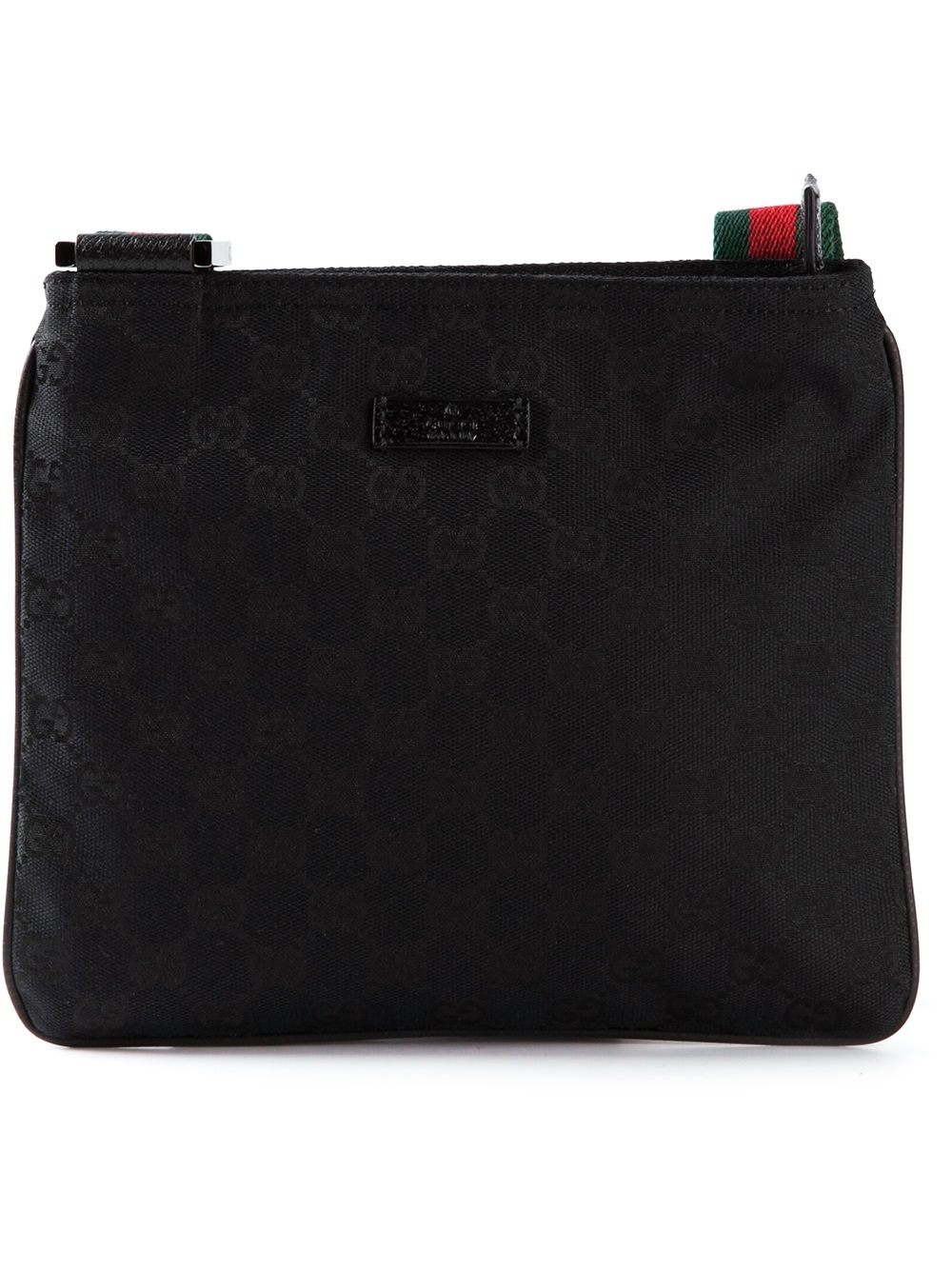 1d85a1f0712 Gucci Crossbody Bag With Red And Green Strap