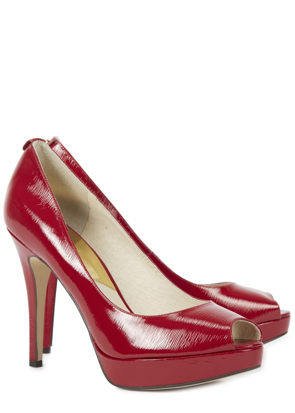 Michael Kors Red Court Shoes
