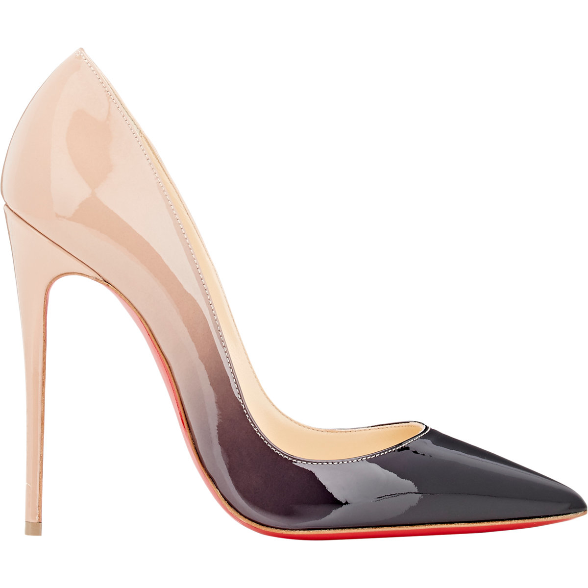christian louboutin so kate ombr patent leather pumps in. Black Bedroom Furniture Sets. Home Design Ideas