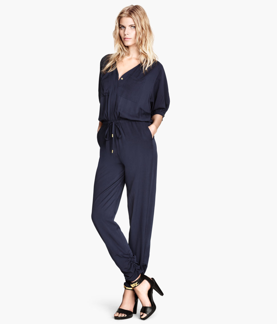 hm blue jumpsuit product 1 17702770 0 707058373 normal h&m jumpsuit in blue lyst,Hm Womens Clothing Malaysia