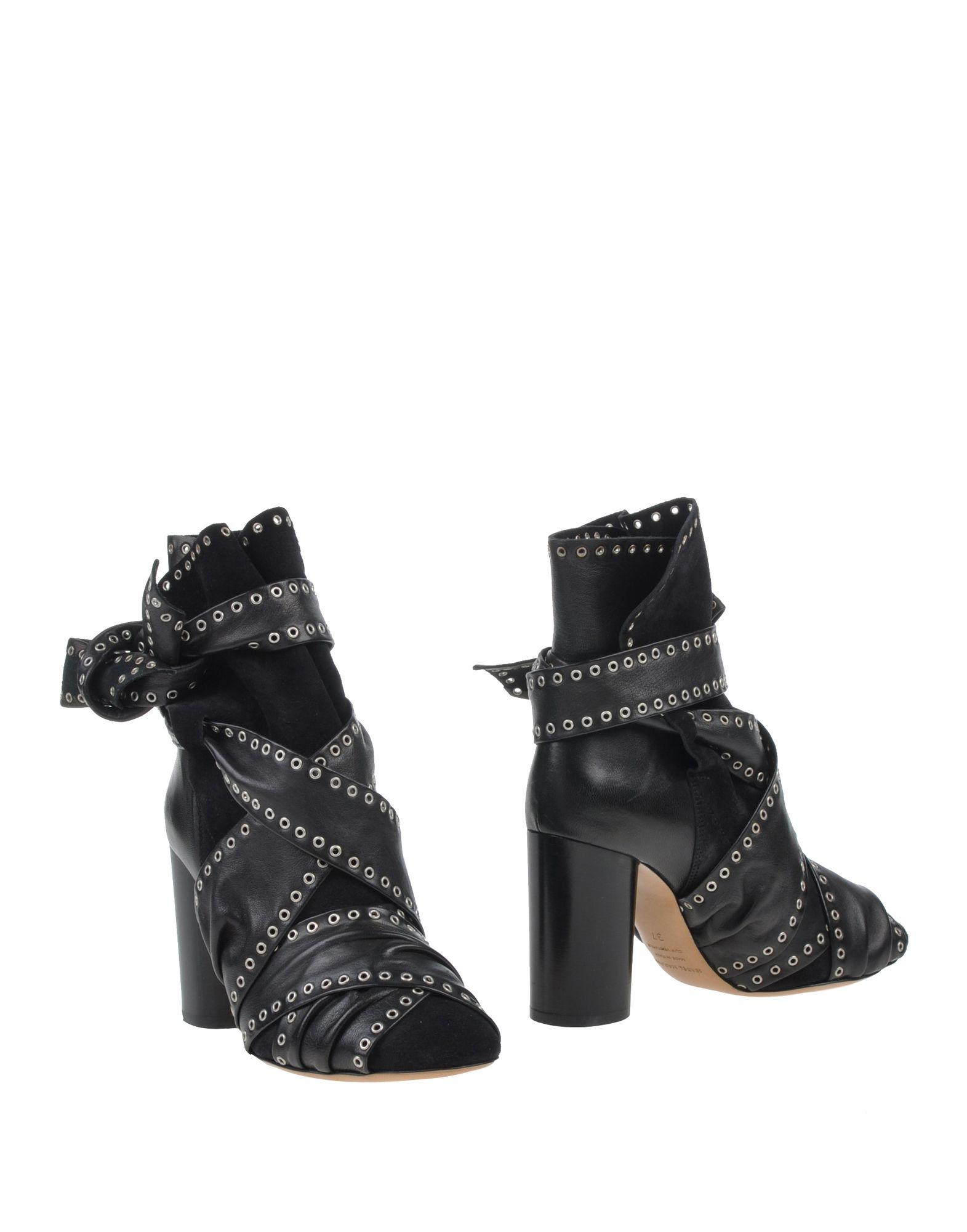 Isabel Marant Leather Wrap-Around Ankle Boots big sale online 57Nj2RXKh
