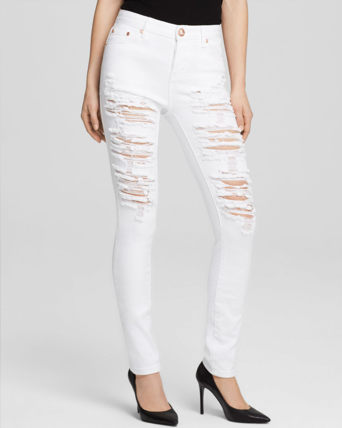 Washing White Jeans - Jeans Am