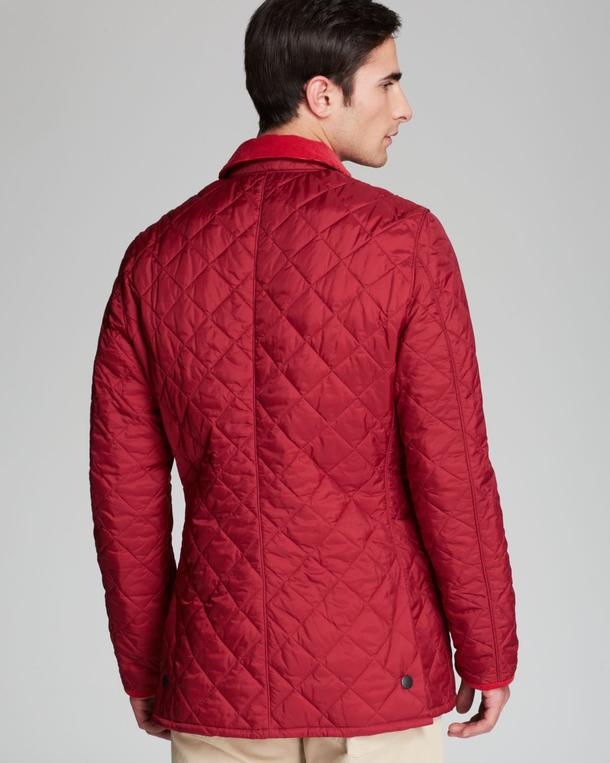 Lyst Barbour Pantone Collection Chip Diamond Quilted