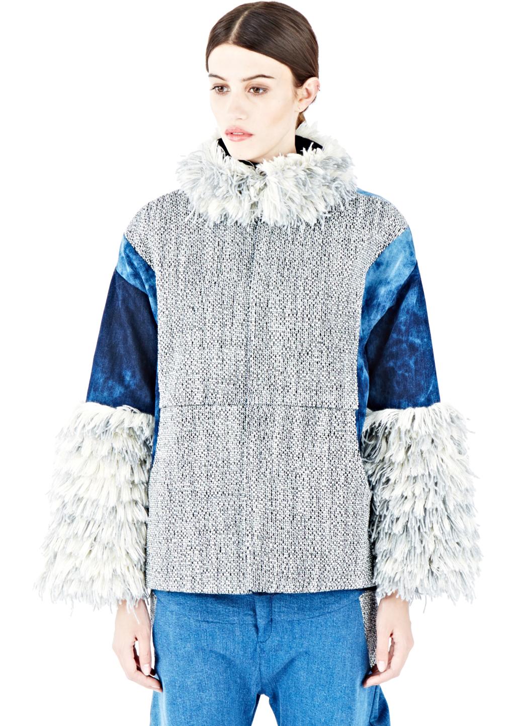 Lyst The Autonomous Collections Women S Wool Denim