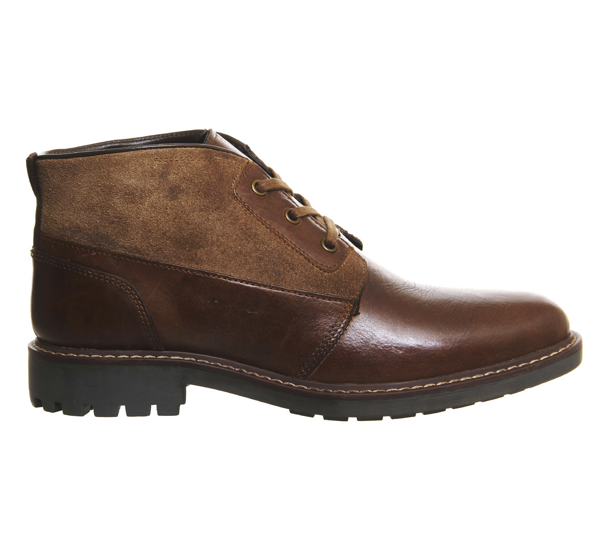 office chimney chukka boot in brown for lyst