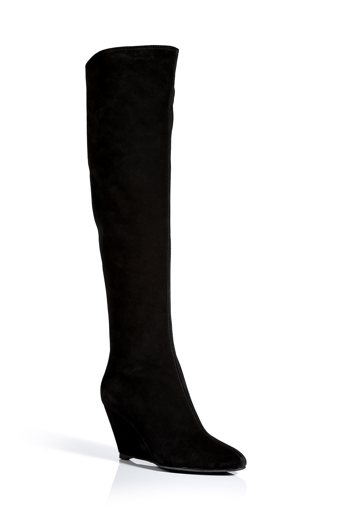 Giuseppe Zanotti Knee-High Wedge Boots with mastercard sale buy buy cheap discounts cheap perfect ocYEhad