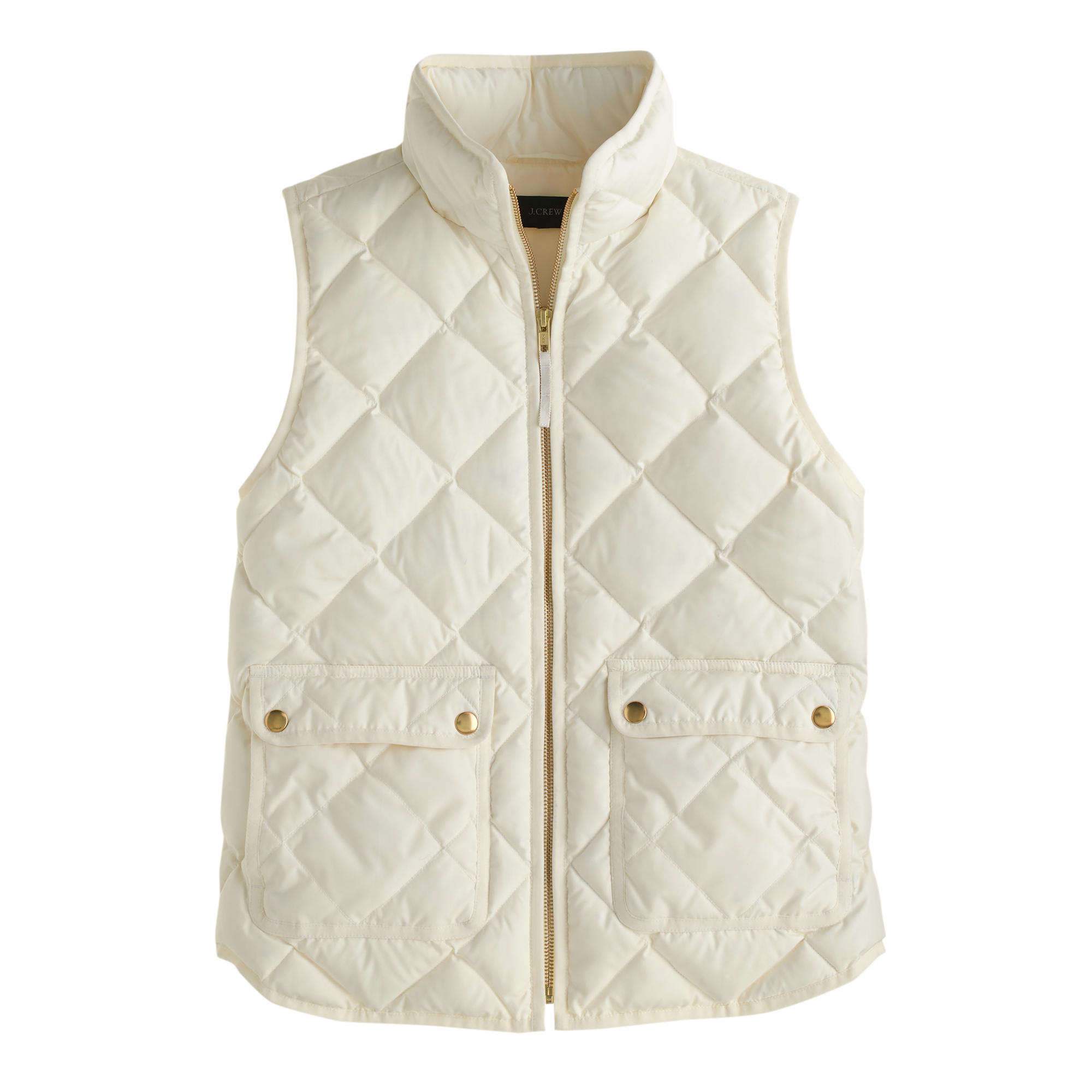 Lyst J Crew Excursion Quilted Down Vest In White