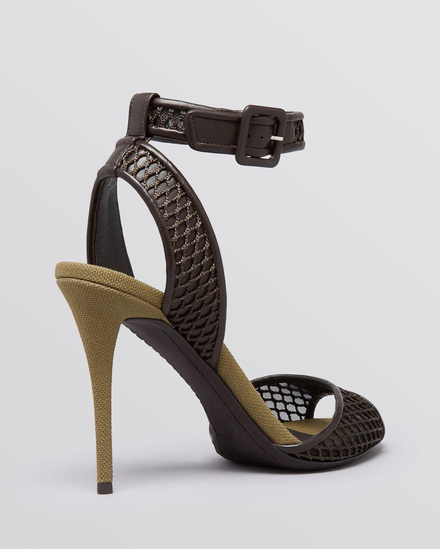 mesh sandals - Black Giuseppe Zanotti I2flkUb