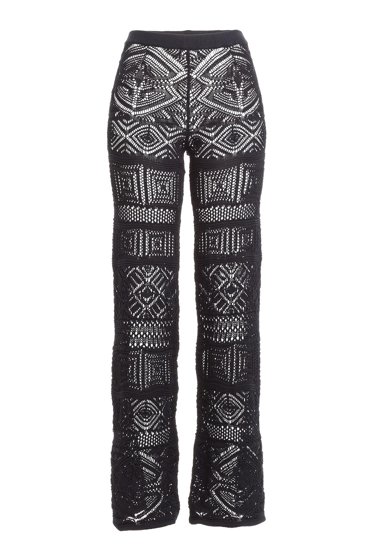 wide leg trousers - Black Emilio Pucci pTV0P