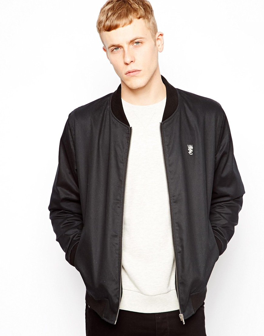 Wesc Yu Baseball Jacket in Black for Men | Lyst
