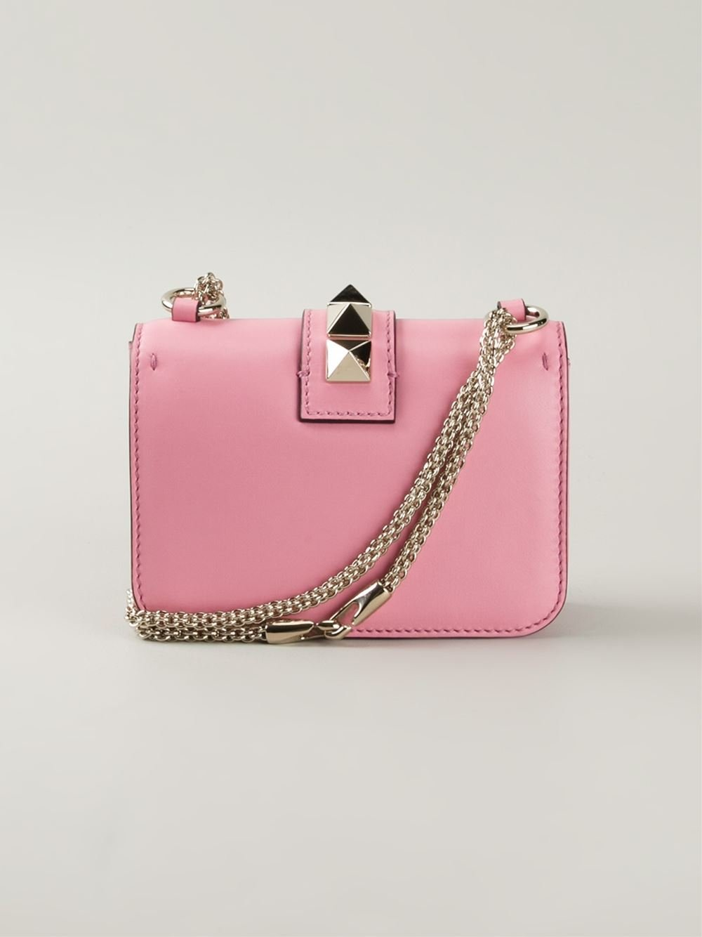iphone text ringtone lyst valentino glam lock cross bag in pink 5862