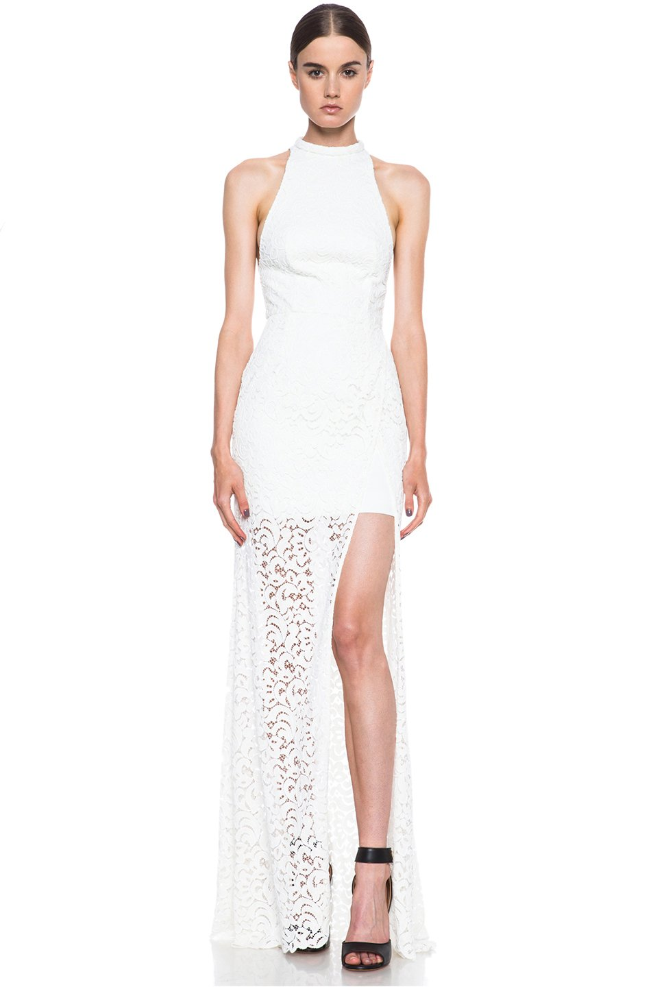 Nicholas Paisley Lace Gown In Ivory Lyst