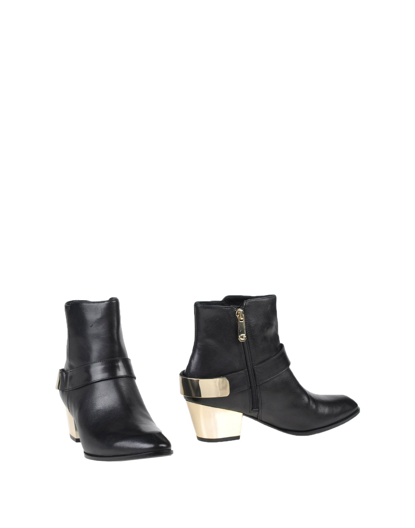 guess ankle boots in black lyst