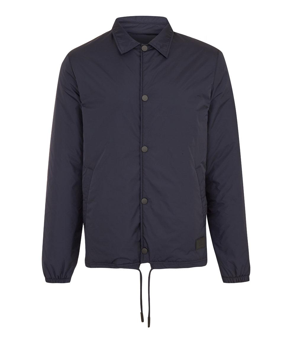 fb3301f4 Acne Studios Navy Tony Face Nylon Coach Jacket in Blue for Men - Lyst