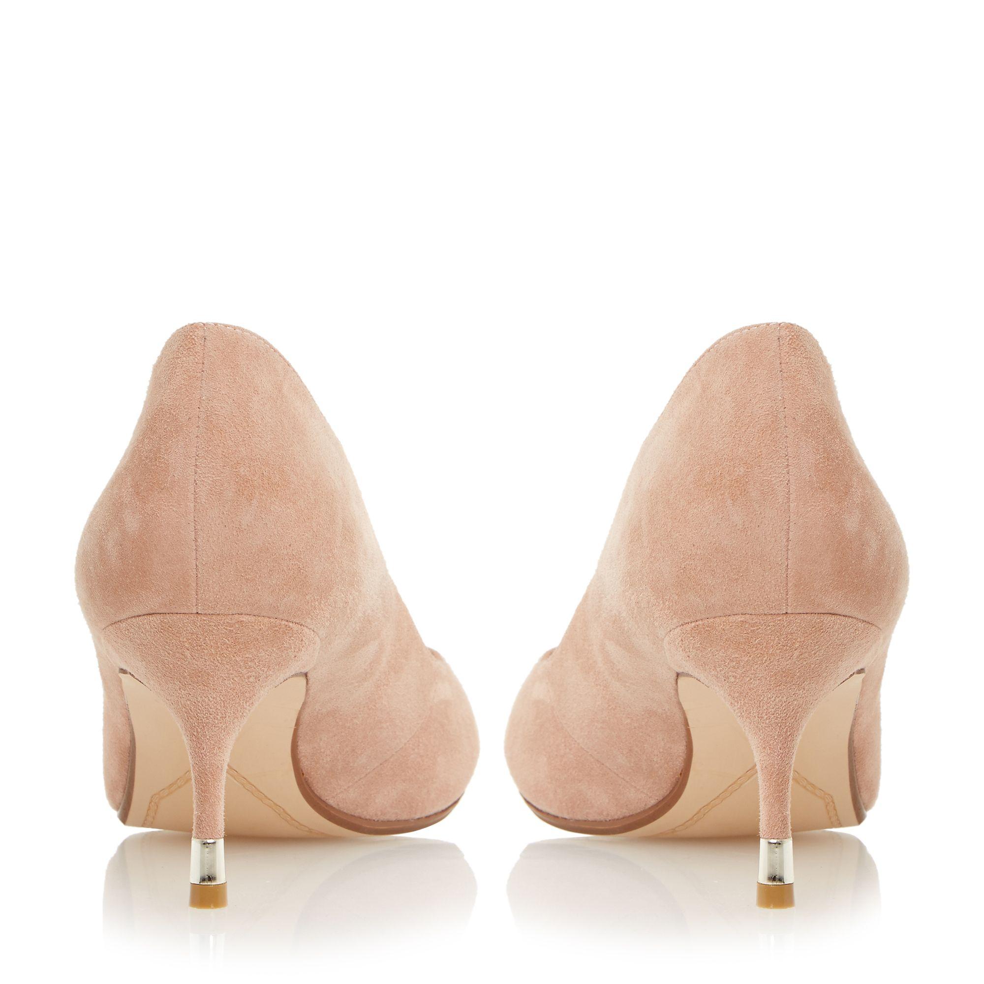 Pink Kitten Heels - Is Heel