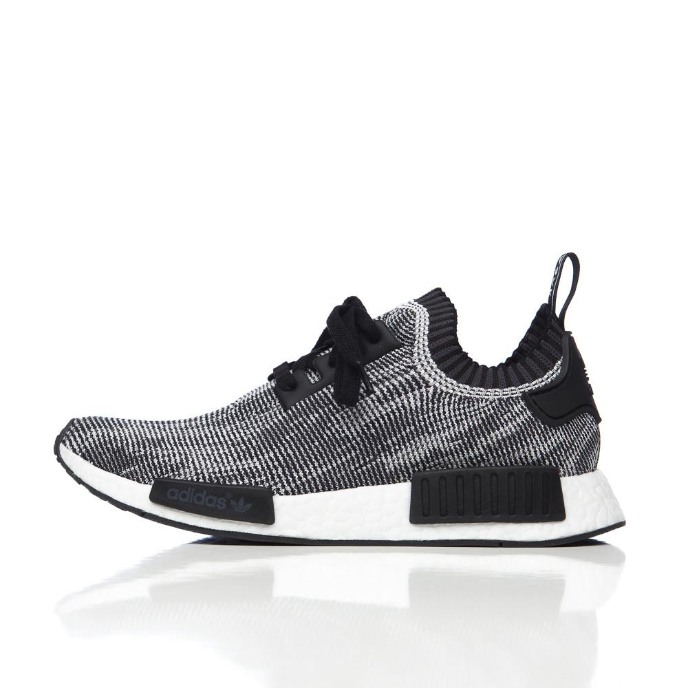 Lyst adidas Originals NMD R1 primeknit en Core Negro / gris negro